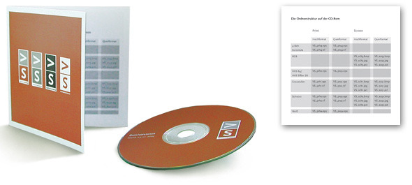 VS Logo CD