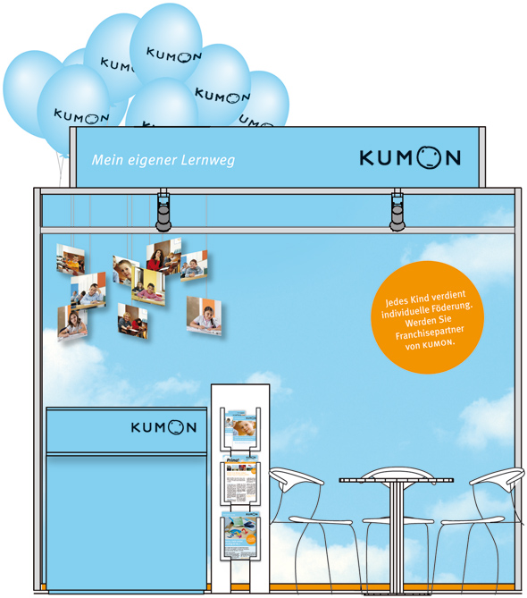 KUMON Messestand